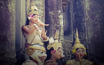 Aspara Dances at Angkor wat