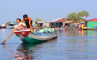 Tong sap floating village