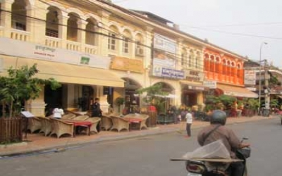 French quater Siem reap