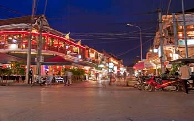 Siem Reap night time